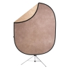 Reversible Collapsible Backdrop Kit(Earthtones)