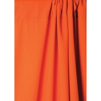 Wrinkle-Resistant Polyester Background, Tangerine