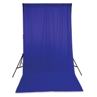 Wrinkle-Resistant Polyester Background, Grape(Stand not included)