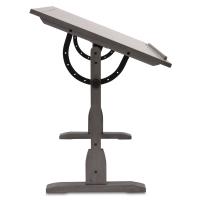 Blick Exclusive! Vintage Drafting Table, Slate Grey