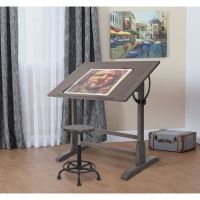 Blick Exclusive!  Vintage Drafting Table(Shown in use)