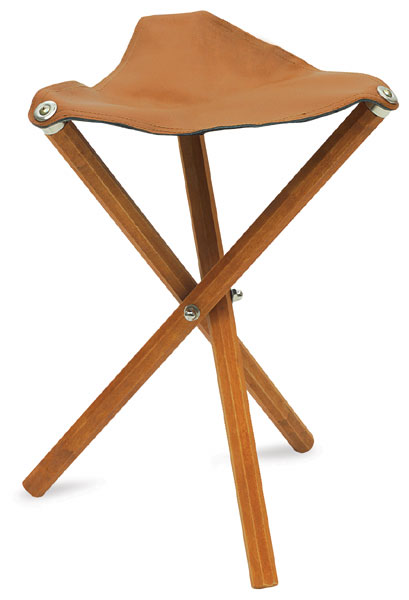 Wooden Stool  sc 1 st  Dick Blick & Portable Folding Stools - BLICK art materials