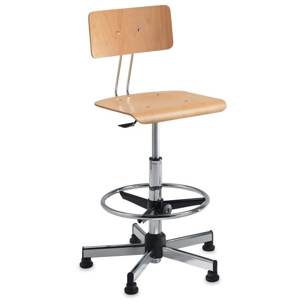Chair, Birch/Chrome
