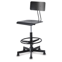 Bieffe Drafting Chair and Stool