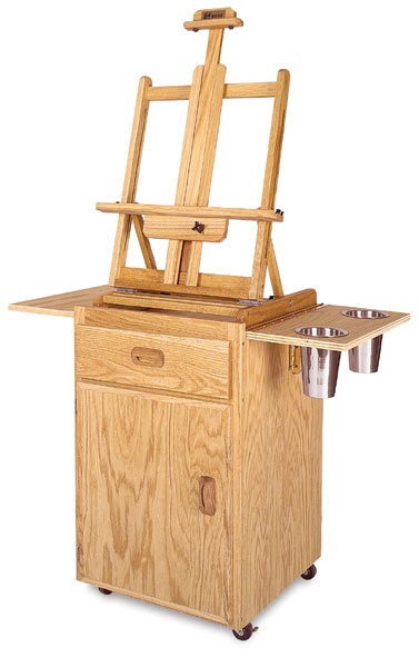 Terrero Taboret and Easel (Sold Separately)