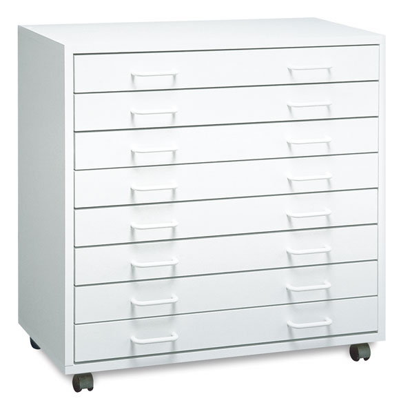 Mobile 8-Drawer Cabinet