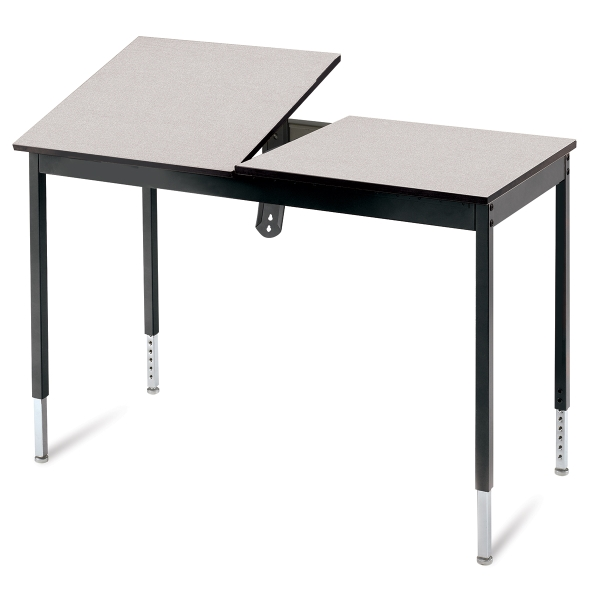 CAD Station Graphic Arts Table, Grey/Black