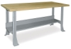 Hann Steel Workbench with Maple Top