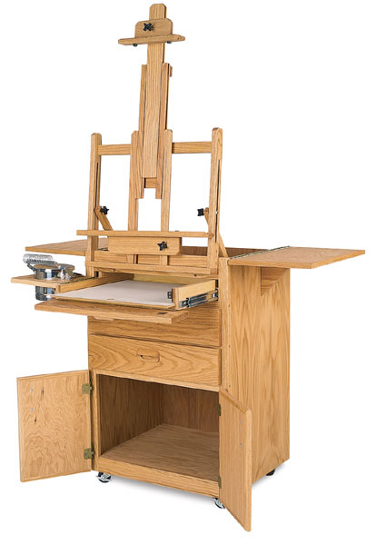Best Sitha S Taboret And Easel Blick Art Materials