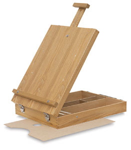 Tabletop Sketchbox Easel
