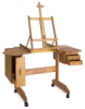 Mabef Painting Workstation Easel M-30