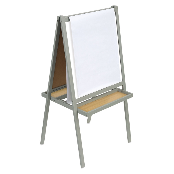 Essentials Paint and Draw Easel, Gray