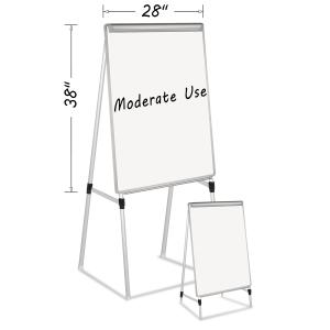 MasterVision Dry Erase Quad-Pod Presentation Easel