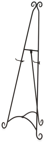 wrought iron display easel - Display Easel