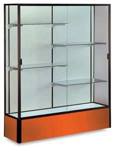 Dark Bronze Frame/Orange Base