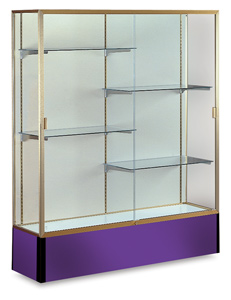 Champagne Frame/Purple Base