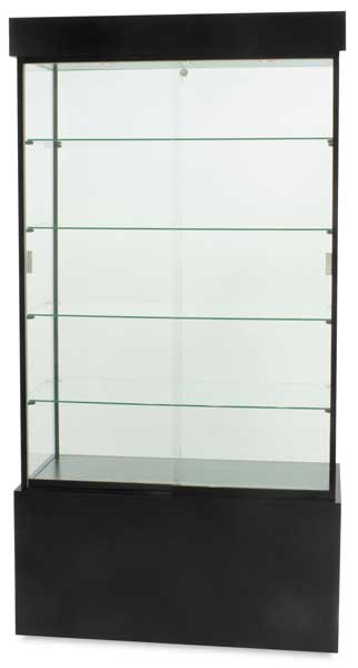 Economy Display Cases, Black