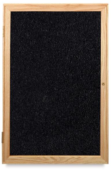 Oak Frame Tackboard, 1 Door