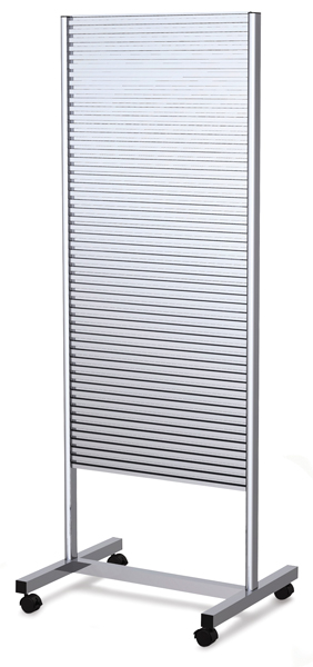 Double-Sided Slatwall Stand