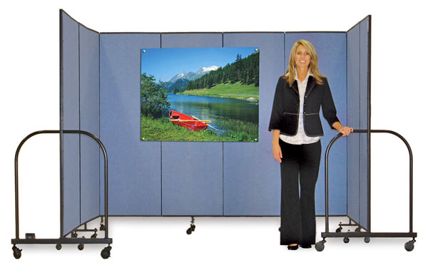 Screenflex Portable Room Dividers, Example of Use