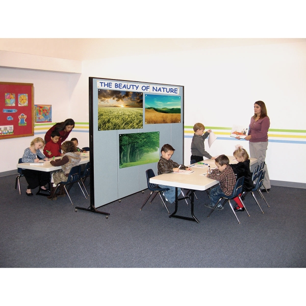 5 Panel Divider, Shown in Use