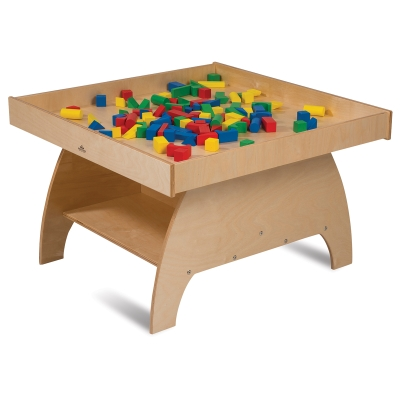 Big Wide Discovery Table(Blocks not included)