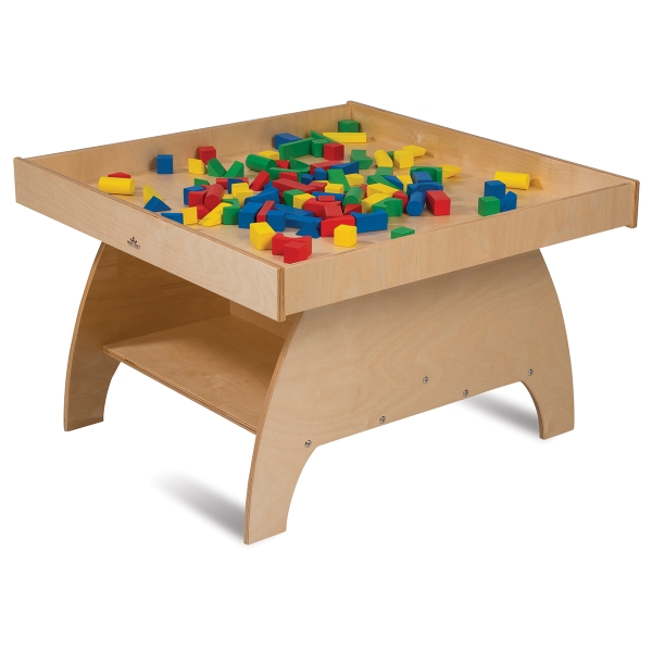 Big Wide Discovery Table<br/>(Blocks not included)