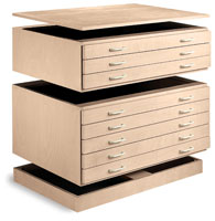 SMI Unfinished Natural Birch Stackable Files