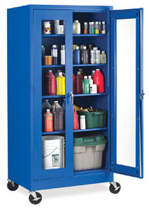 & Visual Mobile Storage Cabinets - BLICK art materials