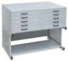 Stand, Shown with Large Flat Files (sold separately)