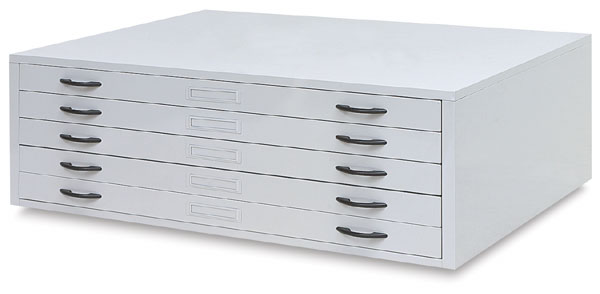 Flat File, Large, 5 Drawer