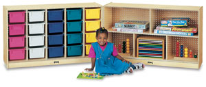 Fold-n-Lock Storage Unit
