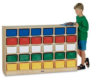 Mobile Storage Unit <nobr>with 30 Trays</nobr>