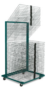 Merveilleux 40 Shelf Drying Rack With 18u0026quot; U0026times; ...