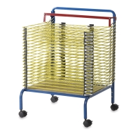 Spring-Loaded Drying Rack