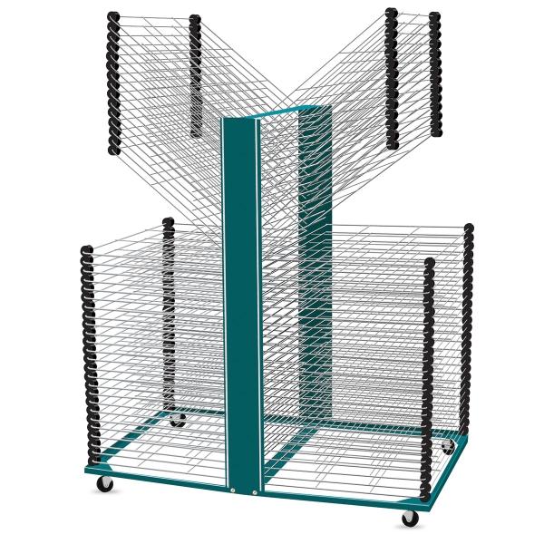 100 Shelf Rack