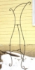 Xylem Ginger Wrought Iron Display Easel