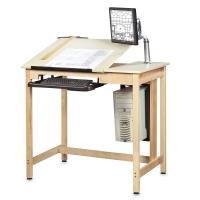 Diversified Woodcrafts Shop-Bilt Drawing/CAD Tables