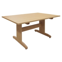 "High Pressure Laminate Top Table, 60"" x 42"""