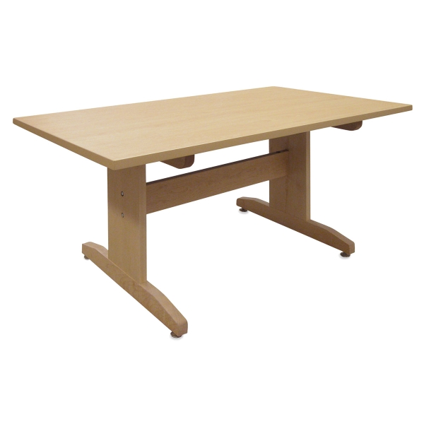 "High Pressure Laminate Top Table, 60"" x 30"""