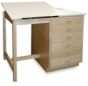 Single Station Drafting Table