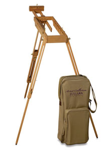 Easel, Extended with Case