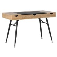 Nook Desk, Ashwood/Graphite Legs