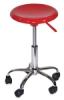 Desk Stool, Hi-Gloss Red