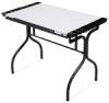 Black/White Top Folding Craft Station