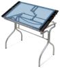 Glass Top Folding Craft Station