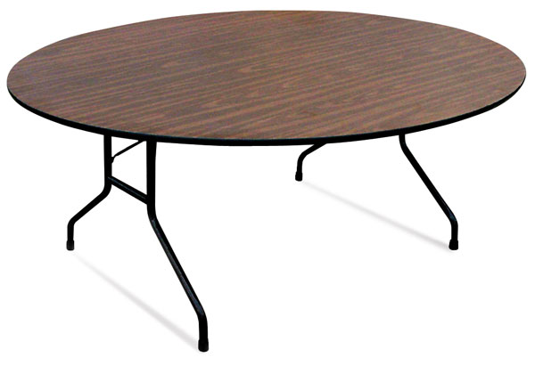 Round Folding Table