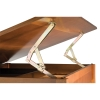 Vanguard Drawing Room Table, Rubber Wood