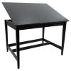 Vanguard Drawing Room Table, Black Ash