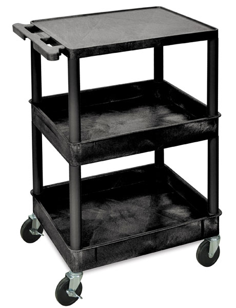Combo Three-Shelf Cart